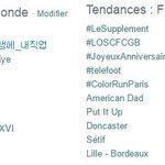 Le PR @fhollande dans @LeSupplement de @canalplus : 1er TT France et Monde ! #LeSupplement #DirectPR http://t.co/IjHubmezTW