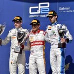 First podium of the day... #GP2 http://t.co/Vbm1duio6k