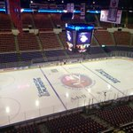Quiet now, not for much longer. Lot of orange rally towels in here. Game 3 at noon today. #CapsIsles http://t.co/F8hh2gAN75