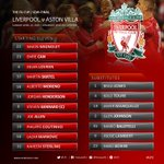 Today's confirmed #LFC starting line-up and subs on our matchday graphic http://t.co/XA5U482Vqb