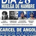 28 días de huelga de hambre ! ! ! #MAPUCHE #Justicia #NoMasCorrupción #Chile http://t.co/Mmt4mC6VmY