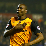 FACT: Only Lionel Messi & Cristiano Ronaldo have scored more goals than Wolves striker Benik Afobe this season (31). http://t.co/q7jgL2KTYj