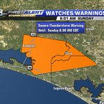 Tornado warning has EXPIRED. Storm has now prompted a severe t-storm warning for areas in orange until 8:30am CT. http://t.co/pipSAyT8bQ