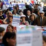 Adultos mayores exigen tarifa rebajada en transporte público http://t.co/dOrDyVCKrk http://t.co/k5iCXXLJ5h