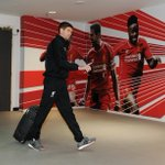 PHOTO: The captain makes his way into the #LFC dressing room http://t.co/7wUfR9NSFD
