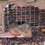 20 years ago today, a bomb tore through the Oklahoma City federal building. 168 people died. http://t.co/qjbkSuphcY http://t.co/glBUfO7eEm