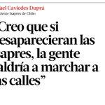 """""""Si desaparecieran las Isapres la gente saldría a marchar a las calles""""  http://t.co/0XCrXbXIqK""""// si saldriamos a la calle pero a celebrar"""
