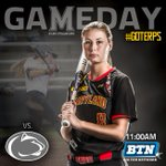 .@TerpsSoftball battles Penn State today at 11am - Maryland Softball Stadium, catch them LIVE on BTN! #GoTerps http://t.co/7VEBS6bfbN