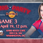 Watch #CapsIsles Game 3 at @hrcwashingtondc (999 E St NW). The Official Caps Viewing Party gets started today @ Noon! http://t.co/Mf0vFo0SQz