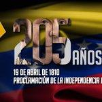 Hace 205 años el pueblo tomó la decisión de ser independiente #19ANacioLaIndependencia http://t.co/qhPKeZdq1s  http://t.co/4Rn2BXD8pK