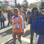.@NMoralesNBC just crossed the @morefitnesshalf finish line! #RunForTODAY