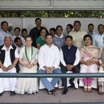 A delegation of farmers from North Eastern states met with Smt. Sonia Gandhi and Rahul Gandhi at 10 Janpath today http://t.co/eNsNarZYL8