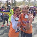 .@NMoralesNBC & @EricaRHill reunited at the @morefitnesshalf finish line. #RunForTODAY http://t.co/r5DtJdhjRe