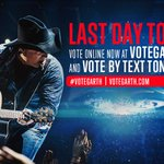 Hit RT Last Day #VoteGarth to win @ACMAwards! Vote HERE-> http://t.co/As1zzvLExV #ACMAwards50 -Team Garth http://t.co/mLnaGx2e93