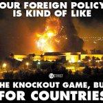 Alle paar Jahre zerstört Obama ein Land. Auch bei Syrien ist Deutschland mit von der Partie. Trotzt Flüchtlinge. http://t.co/Z3Z2wqI5ta