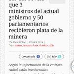 Que de una vez x todas el gobierno de Bachelet revele q ministros además de Peñailillo están involucrados en caso SQM http://t.co/SfOwlgcQIV