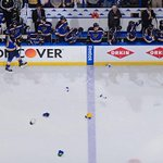 ICYMI: @tara9191s first playoff hat trick powered the Blues to a 4-1 win in Game 2. WATCH >>> http://t.co/2JZfosuB1k http://t.co/LOpI2vxgJz