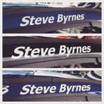 ICYMI: All three of our Sprint Cup drivers gave up their names on the cars for Steve Byrnes today. #ByrnesStrong http://t.co/tvis2c5ySp