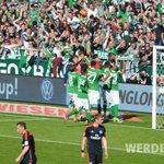 90. Min // Jaaaaaa Jaaaa Jaaa! #Werder gewinnt das #Nordderby, klettert auf Platz 7. // 1:0 #svwhsv http://t.co/Xaq4Tmr39k