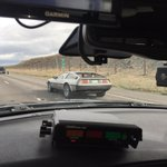 At least he wasnt going 88mph. Enjoy the drive. Pay attention, dont speed http://t.co/kWAi8V8l1L
