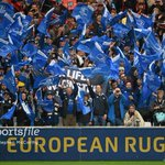 Unreal support for the @leinsterrugby team in France, theyre making a difference so far! #COYBIB #TOUvLEI http://t.co/FGCPky1W4g