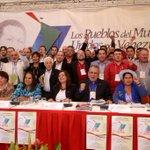 Foro de Sao Paulo aprueba documento en respaldo a Venezuela. La integración nos fortalece. #ForoSaoPauloNosApoya http://t.co/fbd1udBm5i