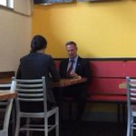 Something tells me Martin OMalleys stop at District Taco today will get less attention than Hillarys Chipotle run http://t.co/V612pykWXx