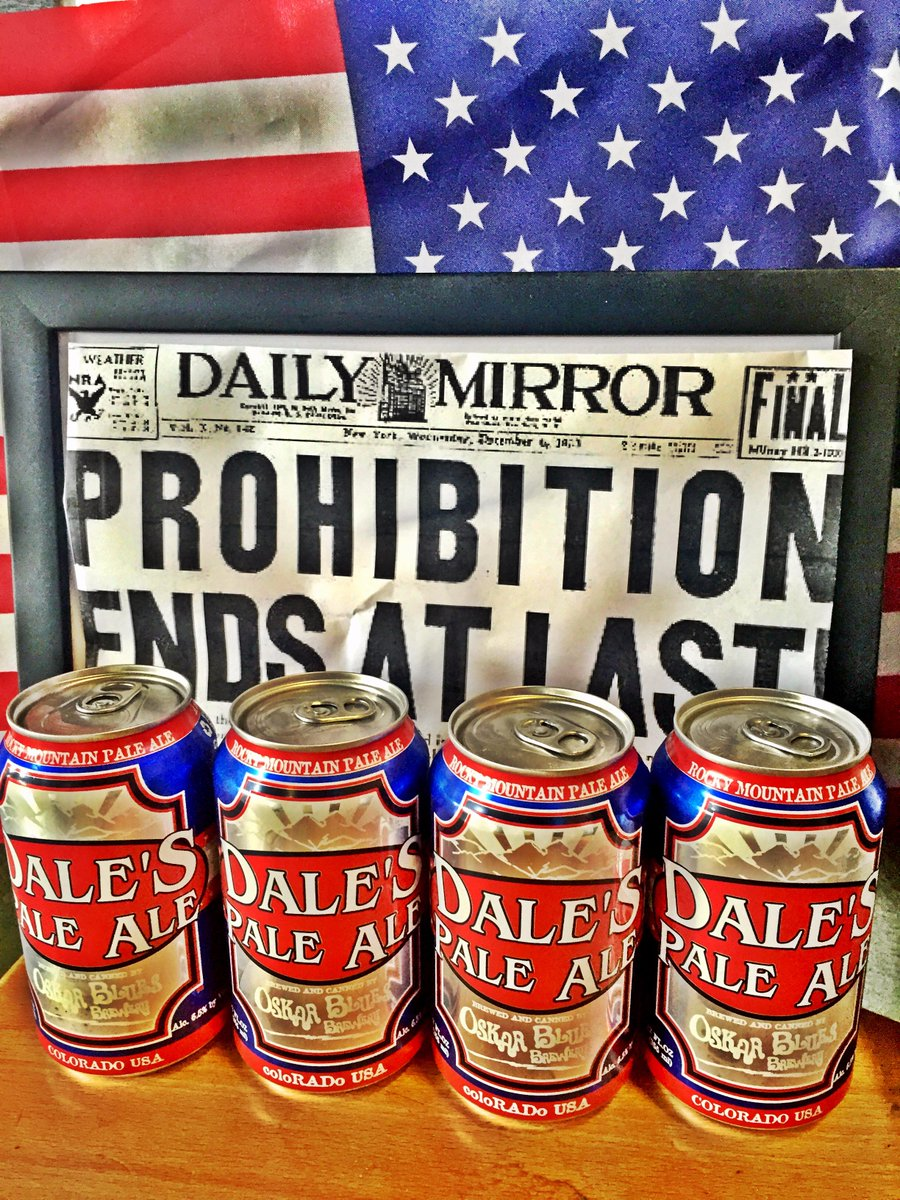 Happy #NationalBeerDay - & thank you to all of the people who realized prohibition was a real bad idea. http://t.co/jX67otD4QE