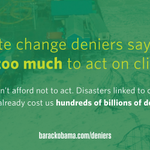 Now is the time to #ActOnClimate.