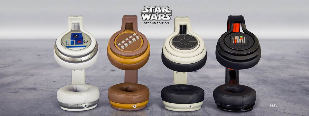"""These headphones are, """"Impressive. Most impressive."""" Pre-order Star Wars™ Second Edition now: http://t.co/BHYsbZNuaS http://t.co/Hgd4YwKBGw"""