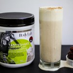 RT @bodylabforwomen: Greek yogurt + almond milk + dates + TastyShake = deliciousness by @MyHealthyDish! http://t.co/ajOyDCMnUK #BeTheGirl h…