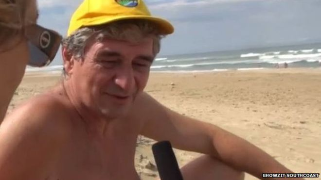 Male nude beach pics that