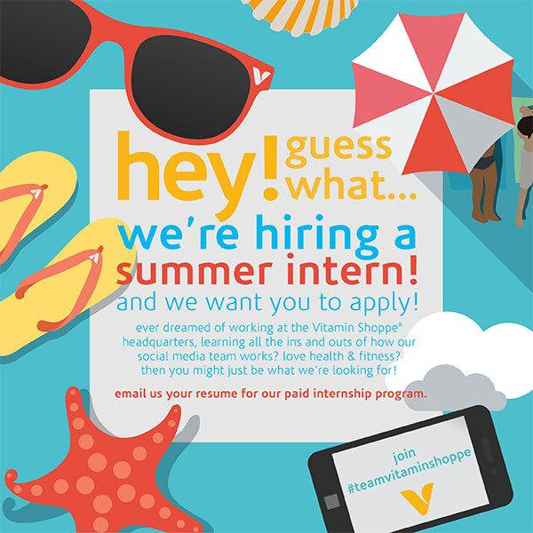 Want to join our social media team? we\'re hiring a summer intern ...