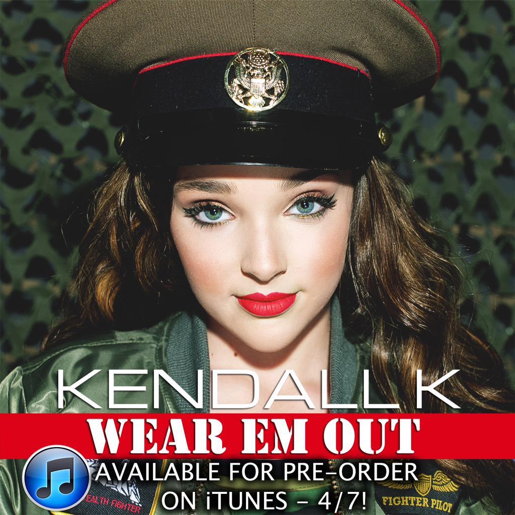 Go on! Preorder #WearEmOut by #KendallK on @iTunes! So proud of you sweetie! Xo!! @kk_vertes https://t.co/ssL3mnLDNC http://t.co/7JO0nBttaR