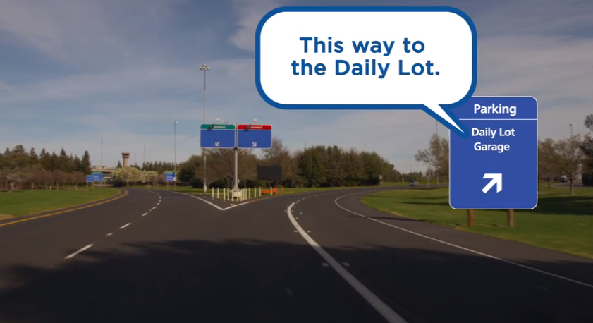 This video can get you from I5 to the Daily Lot to the terminal lickety-split.