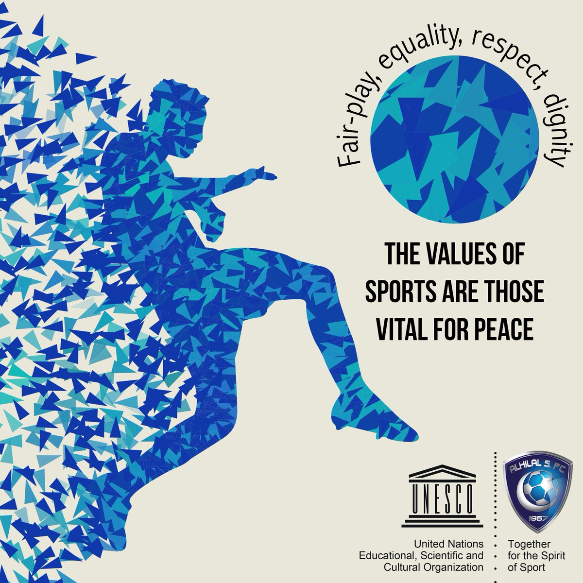 We're proud to join forces w/ @Alhilal_FC to promote social inclusion thru sports http://t.co/gqduFxMdXD @Alhilal_EN http://t.co/HRuMru76rx