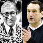 Major parallels in the coaching styles, abilities and results between UCLA's John Wooden and Duke's Mike Krzyzewski