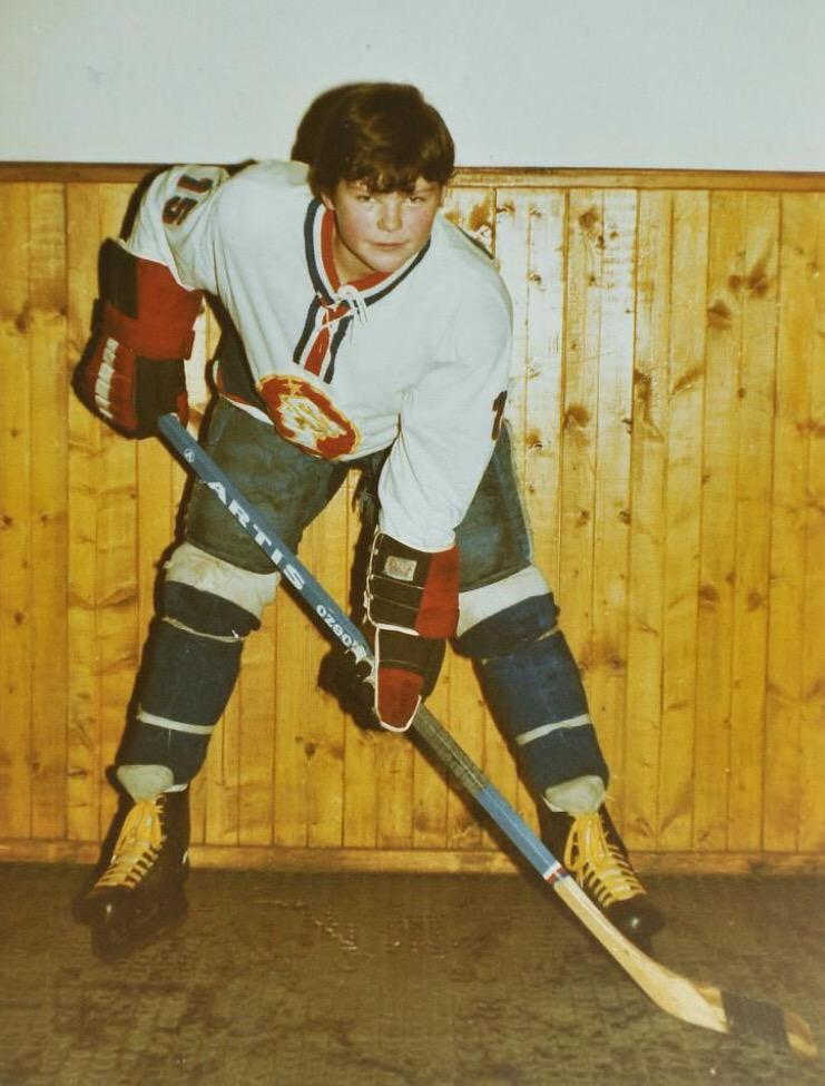 Hockey mullet