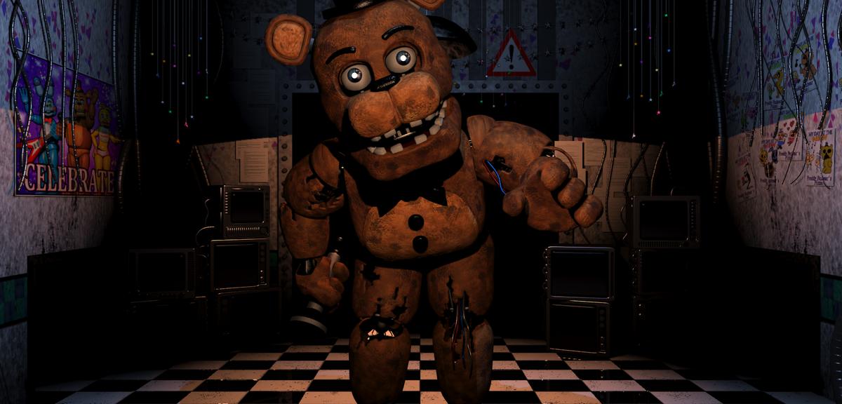 夜ごと動き出すコワかわいい人形たちから身を守る新感覚ホラーゲーム「Five Nights at Freddy's」が実写映画化。ティム・バートン監督作「ダーク・シャドウ」の脚本を手がけたセス・グレアム=スミスらが製作を担当する。 http://t.co/N4RCSIaPu3