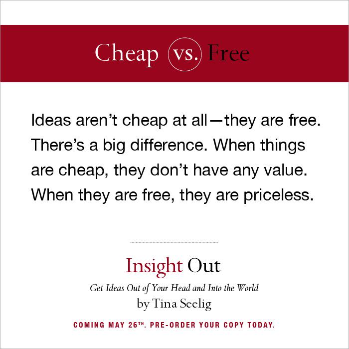 Ideas aren't cheap, they're free! http://t.co/x8QWYIp7hy