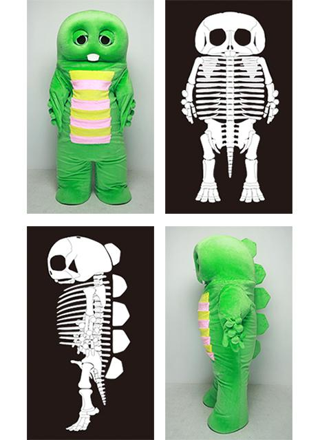 『ガチャピンに骨はあるの?』  あるよ。  http://t.co/0x9WTDzEga http://t.co/PpzyFRlqVi