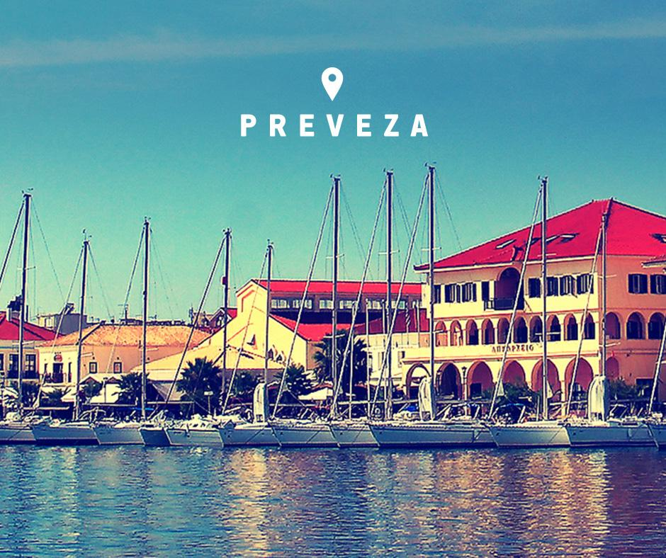 Fly to Preveza & 33 more destinations throughout Greece from 29€.
