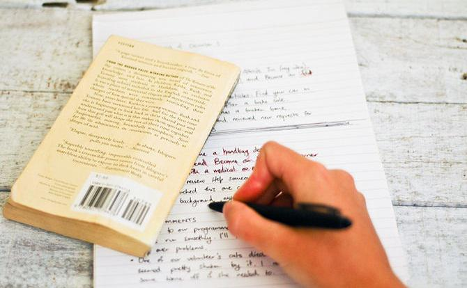 Free book reports essays