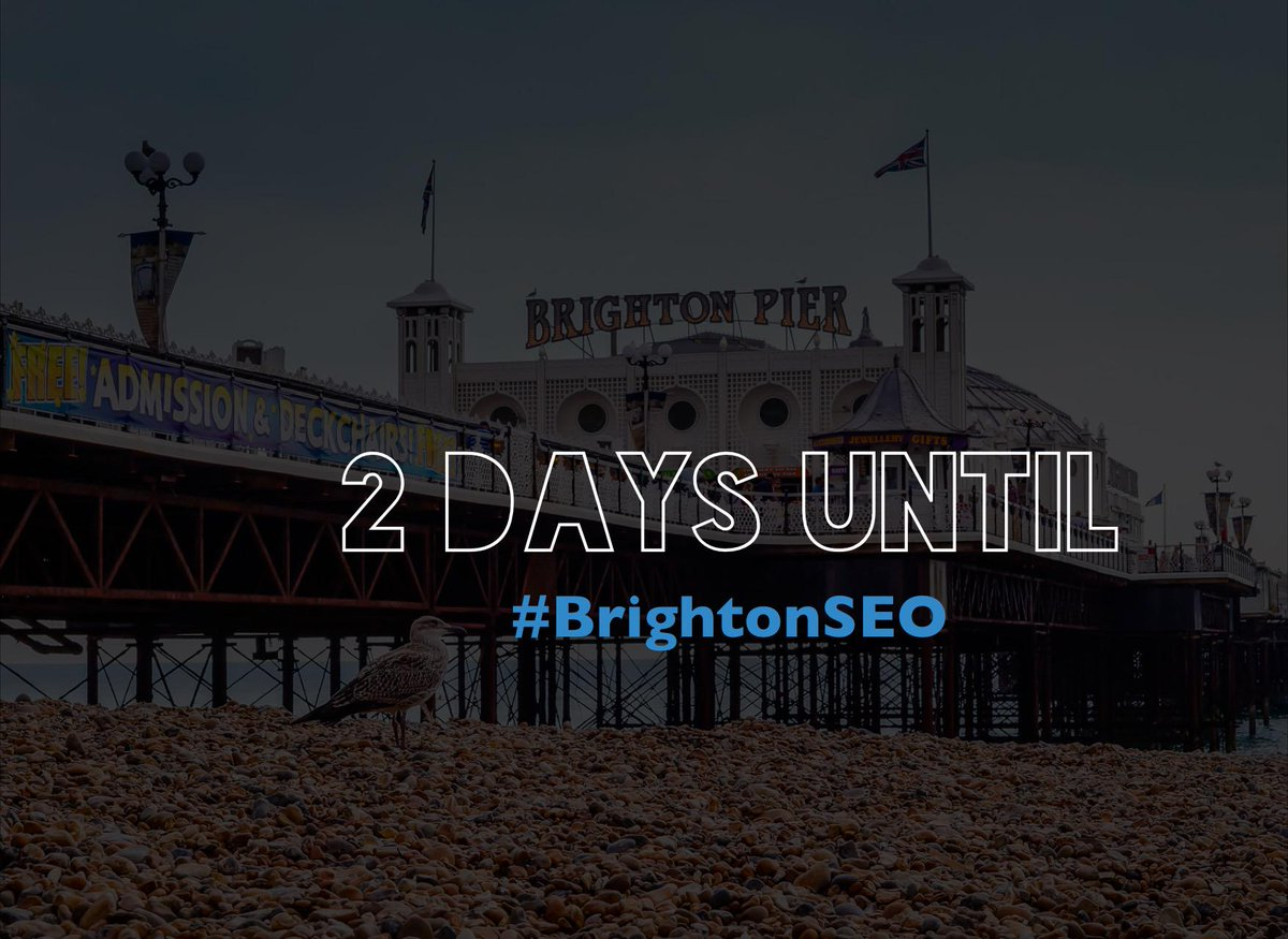 Are you ready for #BrightonSEO? Make sure to bring with you:   - hunger for knowledge  - passion for #SEO - a smile http://t.co/dZRVudDpY1