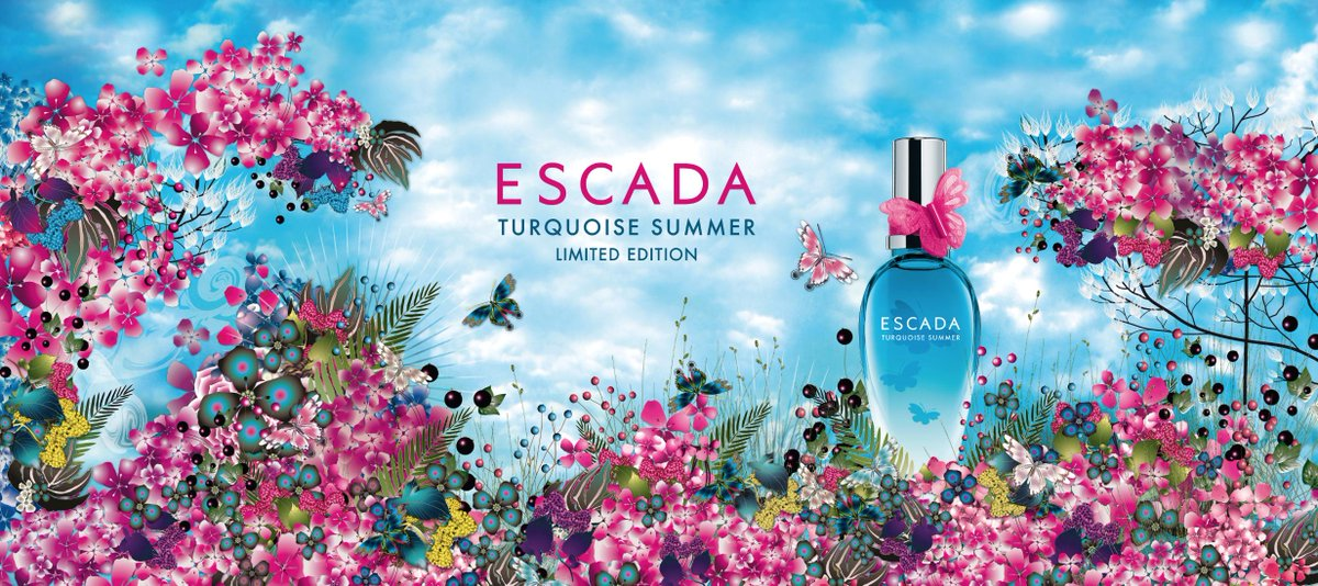 Open the door to summer with our new limited edition fragrance #ESCADA #TurquoiseSummer. http://t.co/PMG6GTKh1R