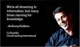 "RT @CCI_INTL: ""We're all drowning in information, but many times starving for knowledge.'"" @TonyRobbins http://t.co/vHsEHTNzaj"