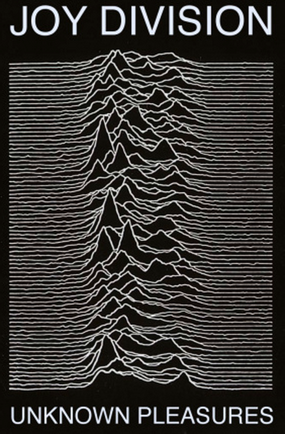 Alberto Cairo (@albertocairo): The cover of Joy Division's 'Unknown Pleasures' is a visualization http://t.co/QGBOFWtCu8 @timoelliott #dataviz http://t.co/W4RMUn6Jlv