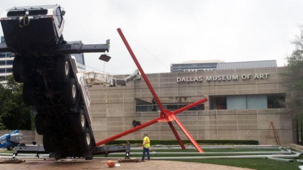 TRENDING: Fallen Crane at Museum Mistaken for Art Exhibit HT @neatorama http://t.co/SI3qJMs1c3