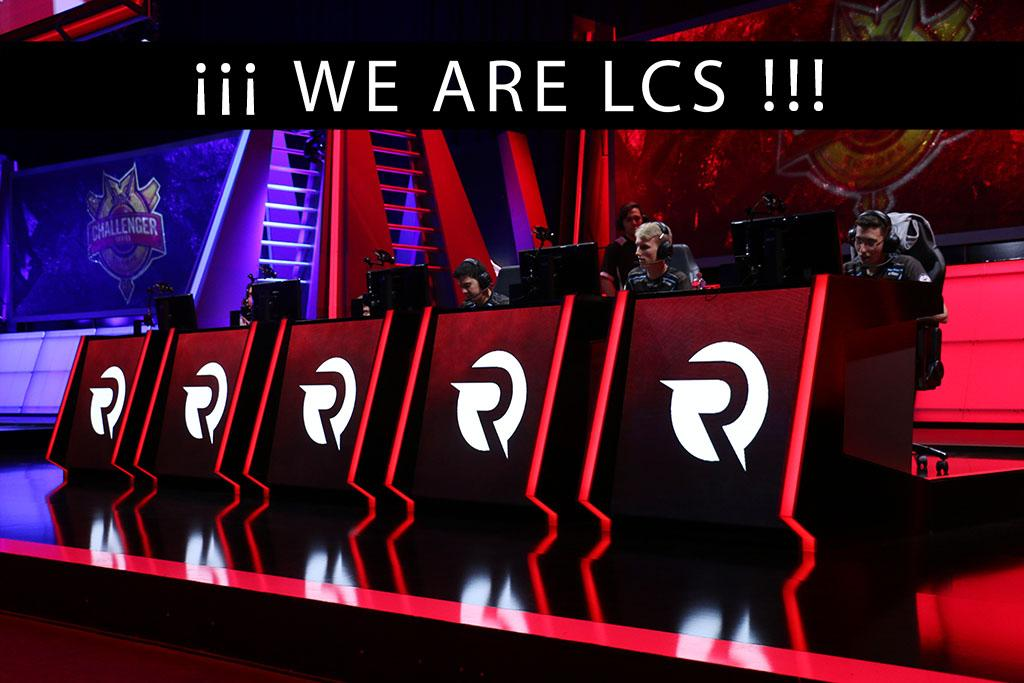 History couldn't be written be any other way @Origengg: ¡WE ARE LCS! #OrigenLCS http://t.co/ZX3vvdxpt4
