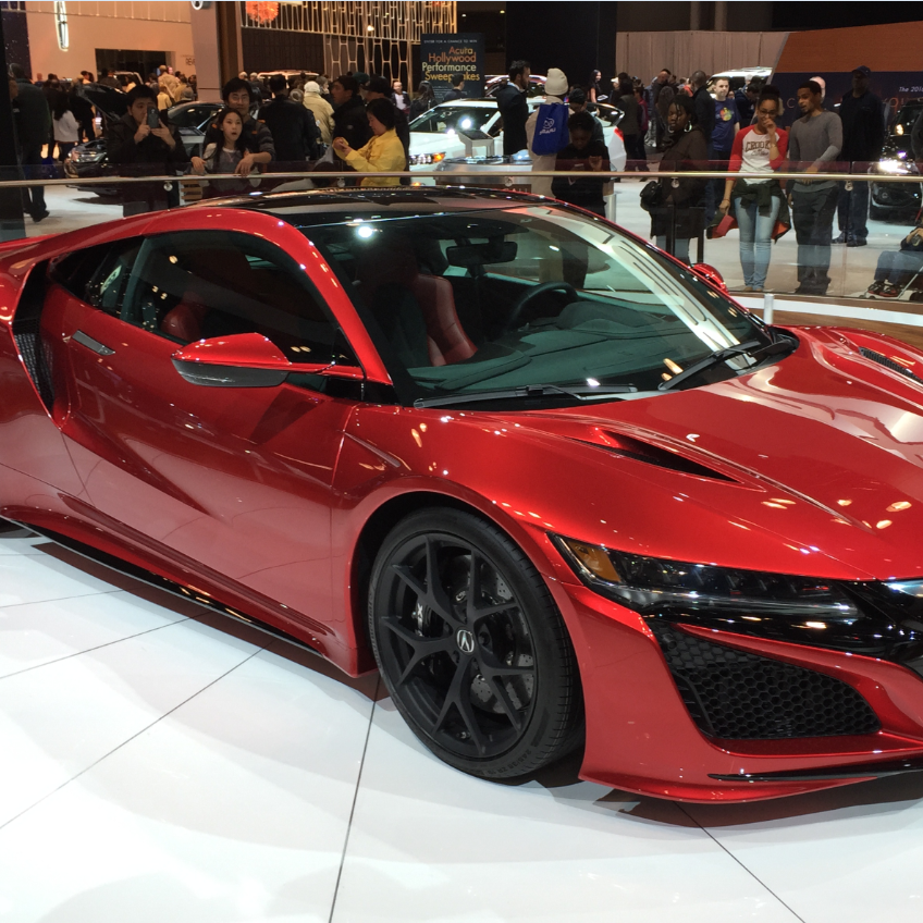 The @Acura #NSX. Representing the ideal blend of exotic sports car form and supercar function. #NYIAS http://t.co/uyV68fXtOB